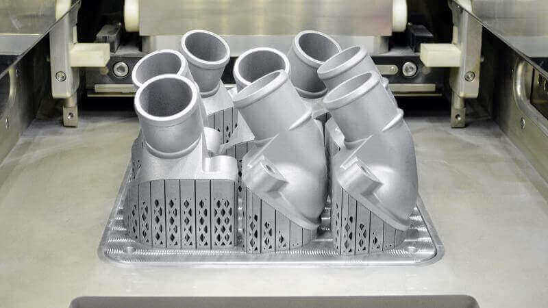Mercedes-Benz Reveals First Metal 3D Printed Truck Part | All3DP