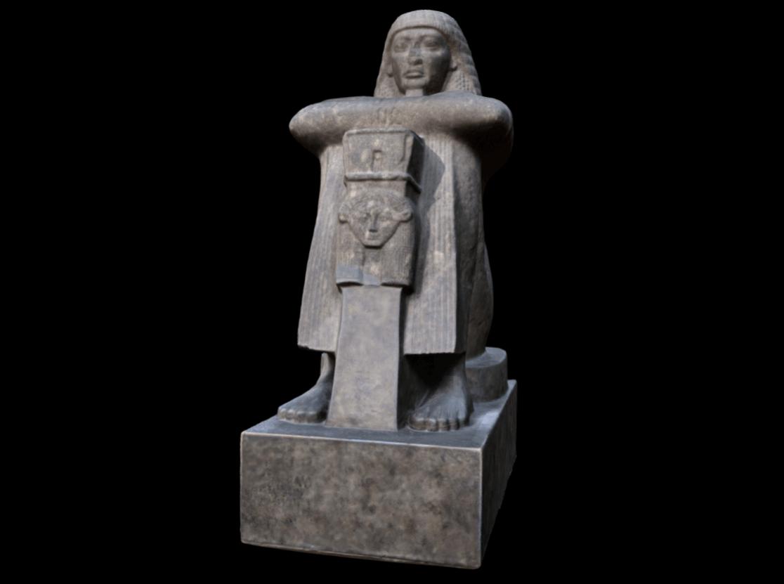british museum statue of roy
