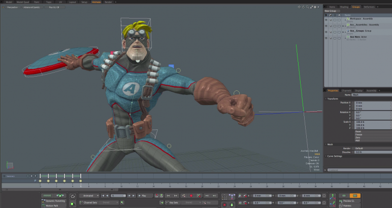 Image of Die besten 3D-Animationsprogramme (3D-Animation-Software): modo