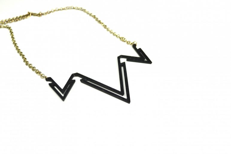 Image of 3D Printed Jewlery: V Necklace