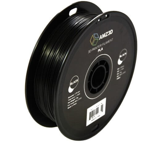 Image of Best Selling 3D Printer Filament on Amazon: AMZ3D Black PLA