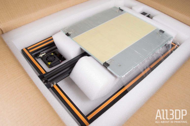 Image of Creality CR-10 3D-Drucker-Test: Verpackung und Montage