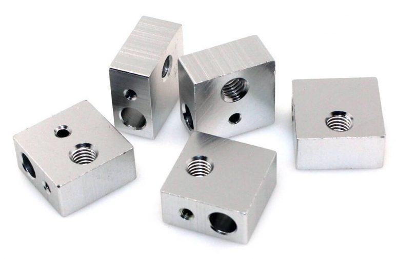 Image of Best-selling 3D Printer Extruder at Amazon: BIQU Aluminum Heater Block (5 PCS)