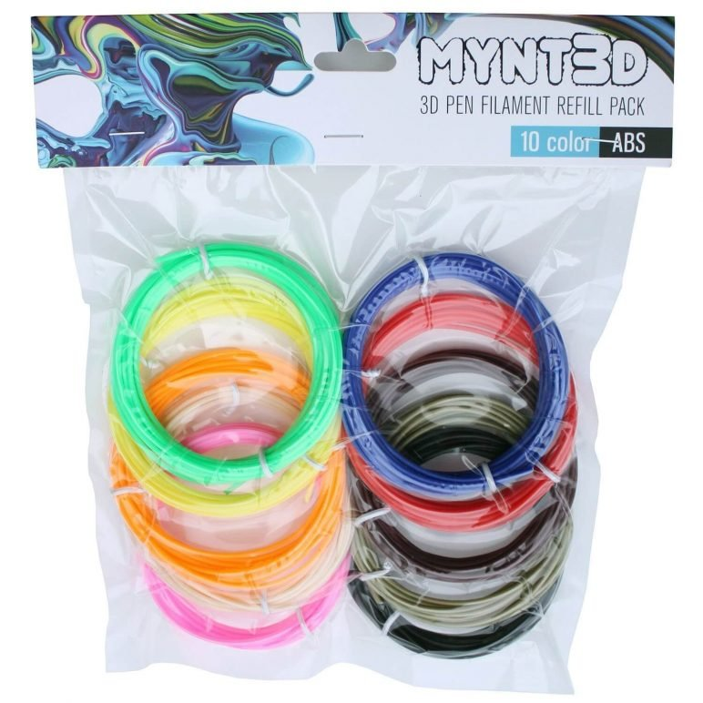 Image of Essential 3D Printer Parts & Accessories: MYNT3D ABS 3D Pen Filament Refill Pack