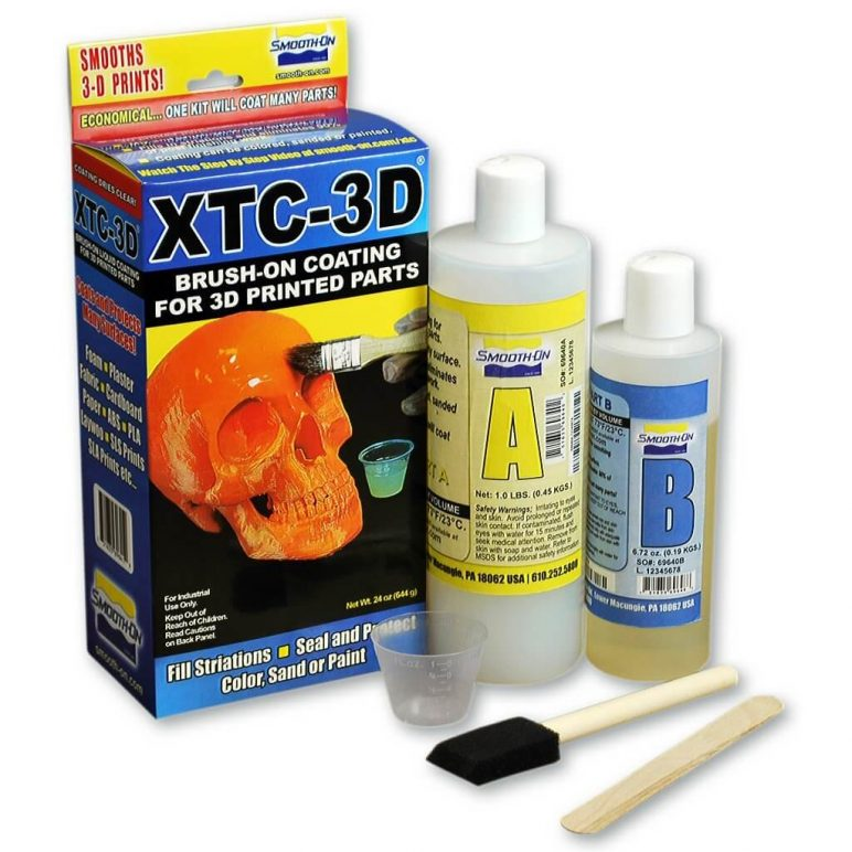 Image of Essential 3D Printer Parts & Accessories: XTC-3D High Performance 3D Print Coating