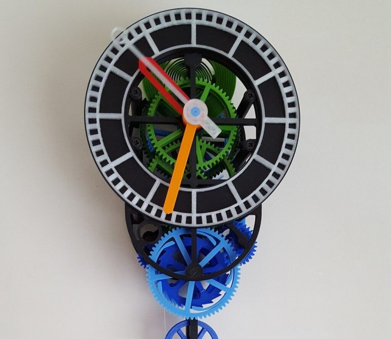 3d Printed Clock 19 Great Projects To Tell The Time All3dp