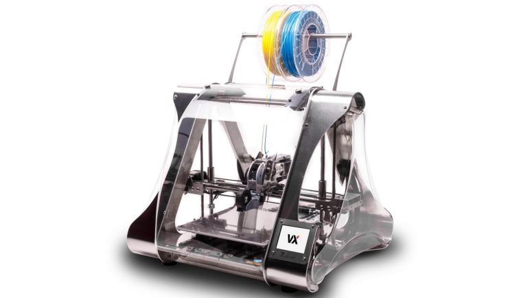 Image of Dual Extruder 3D Printer: ZMorph VX