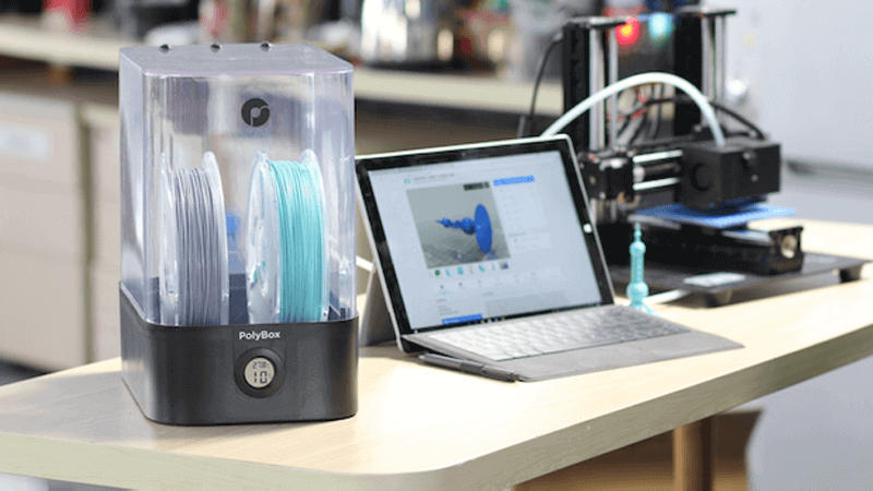Polymaker Seeks to Keep Filament Safe with PolyBox Container | All3DP