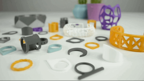 Featured image of 20 Best 3D Printed Rings and 3D Printed Bracelets