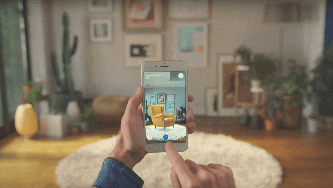 Ikea Develops Augmented Reality App PLACE Built on Apple's New AR Kit | All3DP
