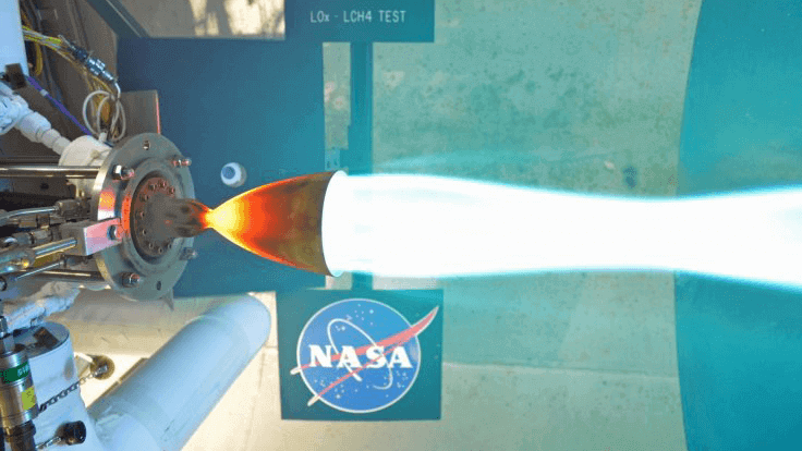 NASA Engineers Test-Fires 3D Printed Rocket Engine Part | All3DP