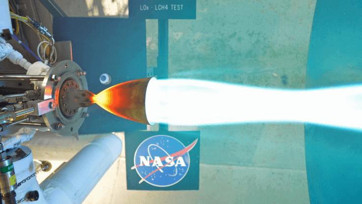 NASA Engineers Test-Fires 3D Printed Rocket Engine Part | All3DP