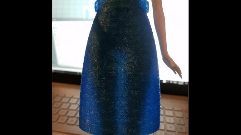 Image of DIY Barbie Accessories: Mid Length Skirt