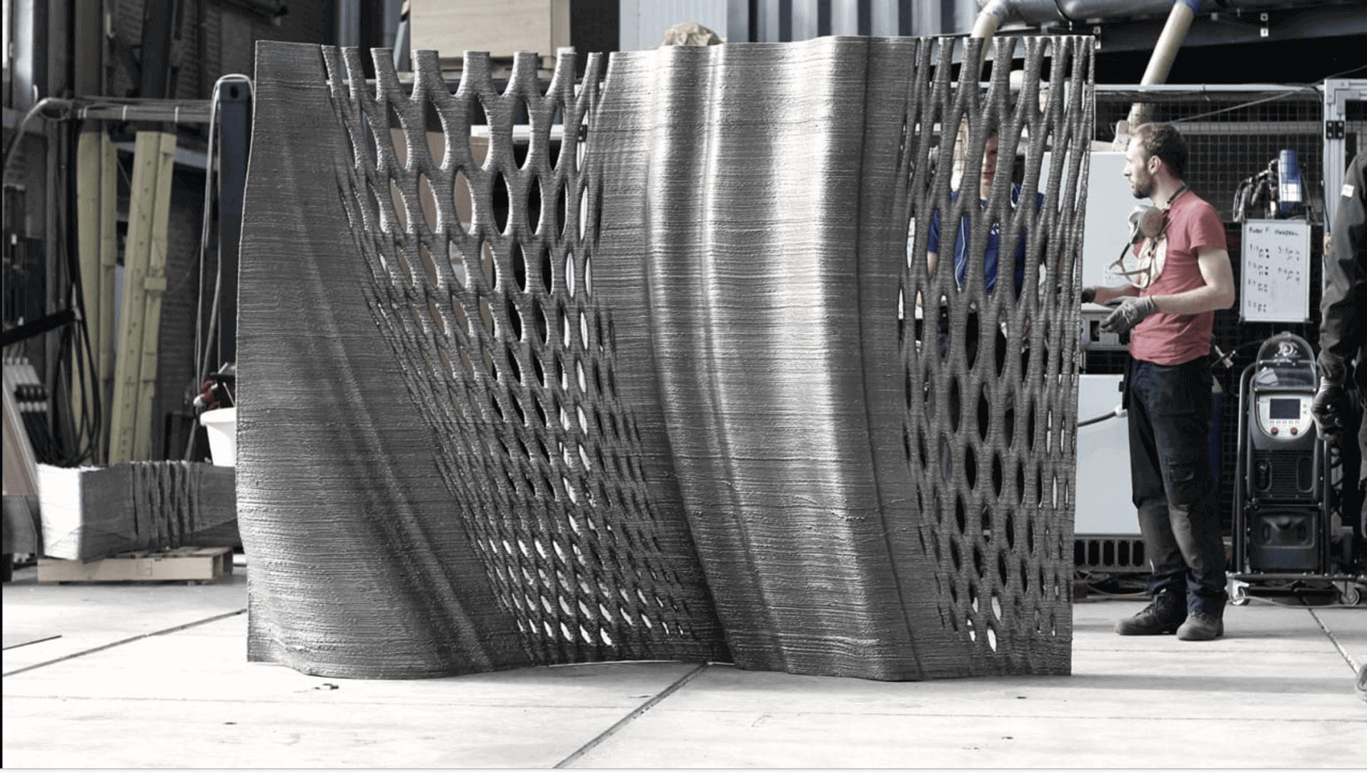 MX3D's Long-Awaited 3D Printed Bridge Project Evolves & Progresses On | All3DP