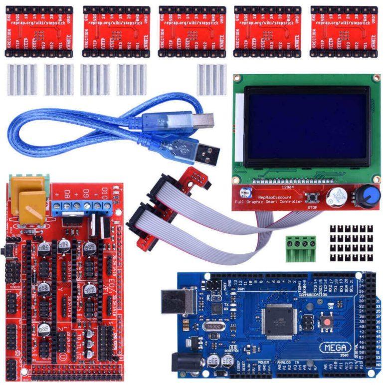 Image of Best 3D Printer Controller: Longruner 3D Printer Controller Kit for Arduino Mega