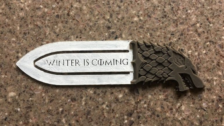 Image of Back to School DIY Design: Game of Thrones Bookmark