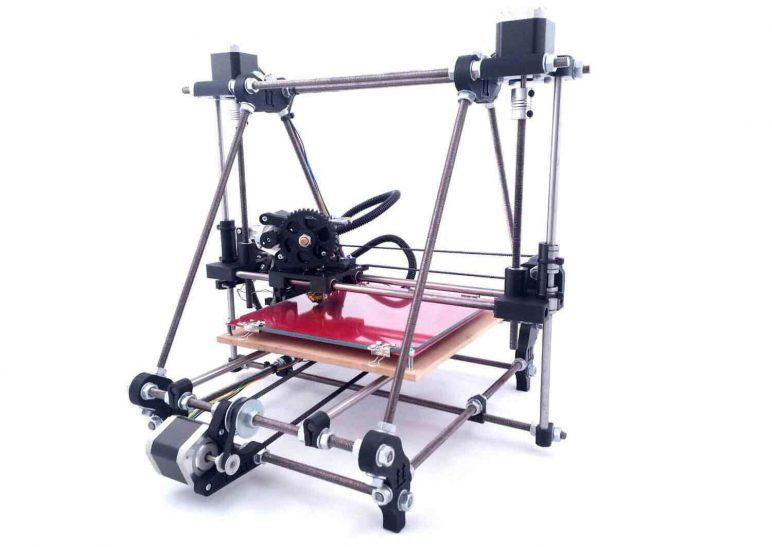 Image of 3D Printer Blueprints - 3 Best DIY 3D Printer Plans: Prusa Mendel (iteration 2)