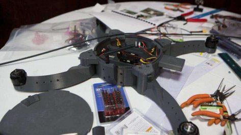 Featured image of US Marines Design 3D Printed Combat-Capable Drone