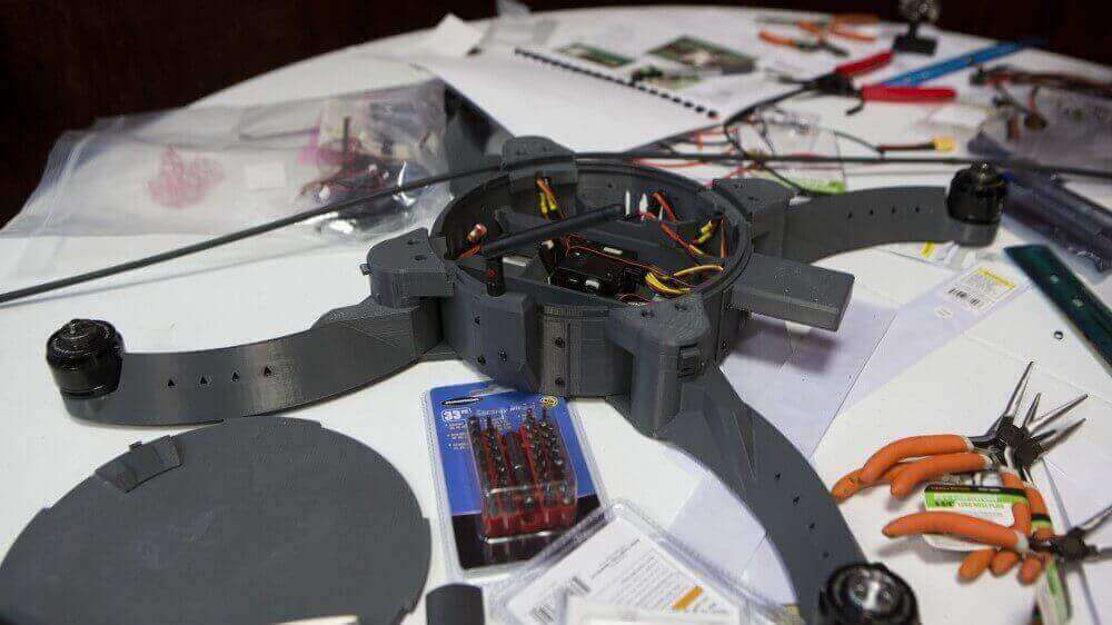 US Marines Design 3D Printed Combat-Capable Drone | All3DP