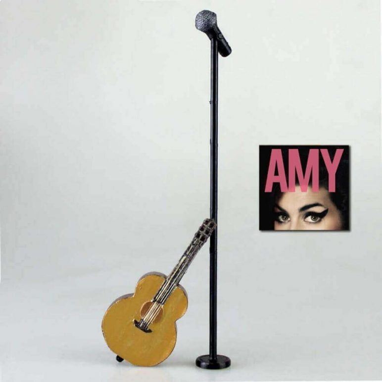Image of DIY Barbie Accessories: Guitar and Microphone