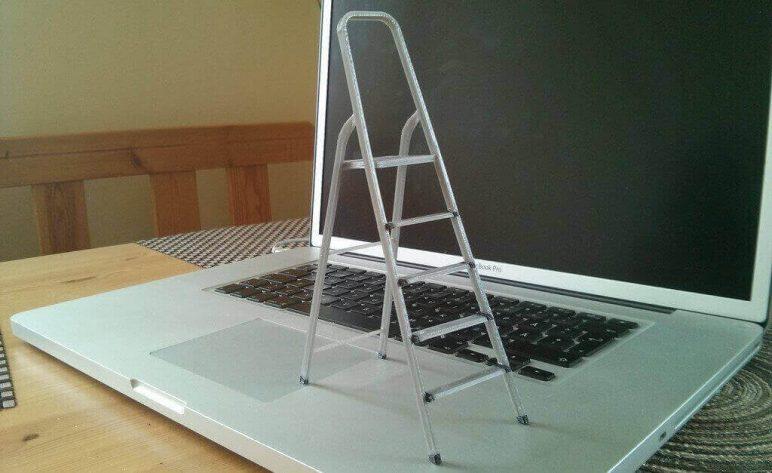 Image of DIY Barbie Accessories: Ladder