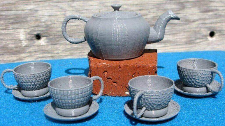 Image of DIY Barbie Accessories: Tea Set