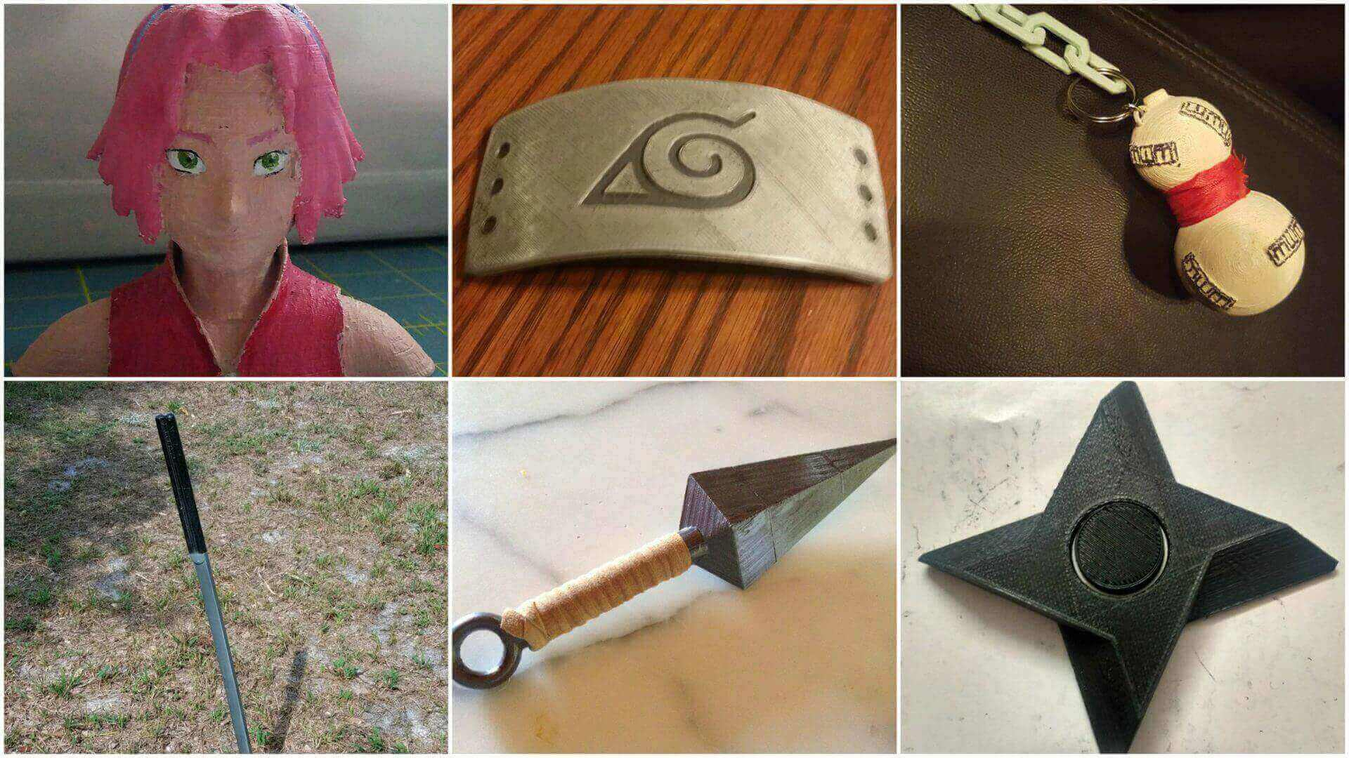 10 Best Naruto Accessories You Can 3d Print All3dp