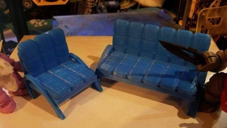 Image of DIY Barbie Accessories: Tuftguy Chair and Couch