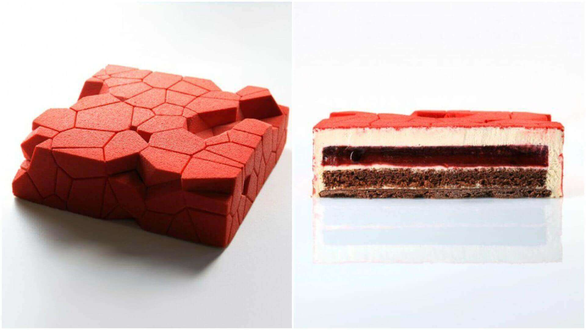 Dinara Kasko Creates New Pieces of Pastry Art with 3D Printed Cake Molds | All3DP