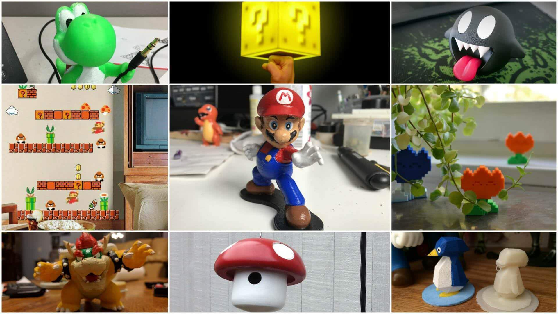 30 Super Mario Accessories You Can Buy or DIY | All3DP