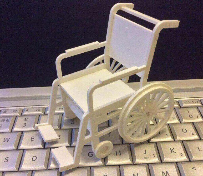 Image of DIY Barbie Accessories: Wheelchair