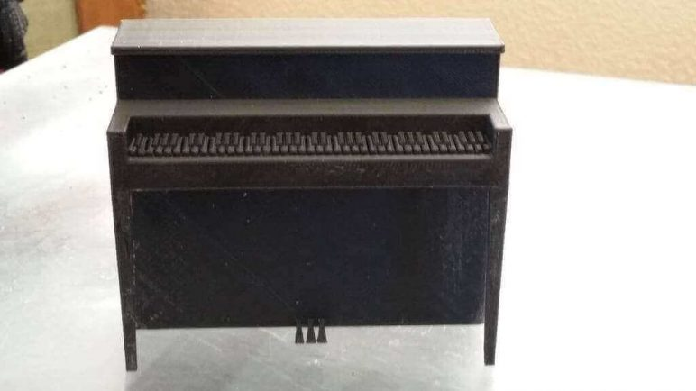 Image of DIY Barbie Accessories: Upright Piano