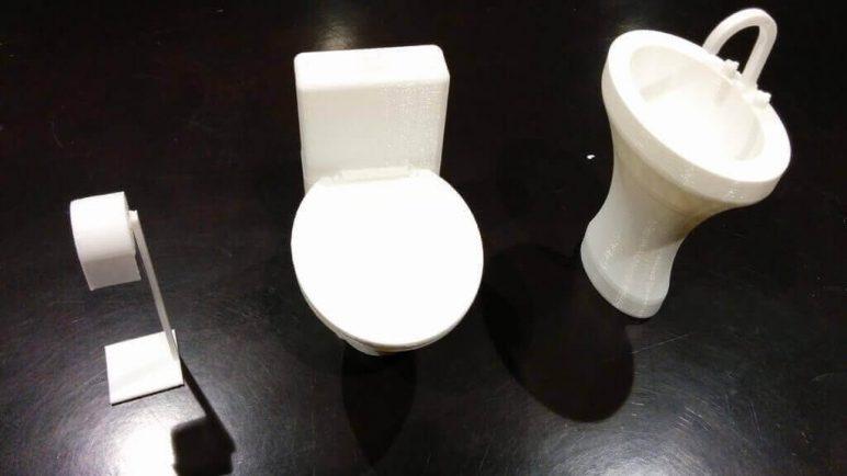 Image of DIY Barbie Accessories: Bathroom Set