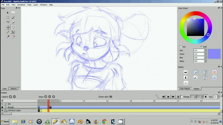 Image of Die besten 2D-Animationsprogramme (2D-Animation-Software): Pencil2D