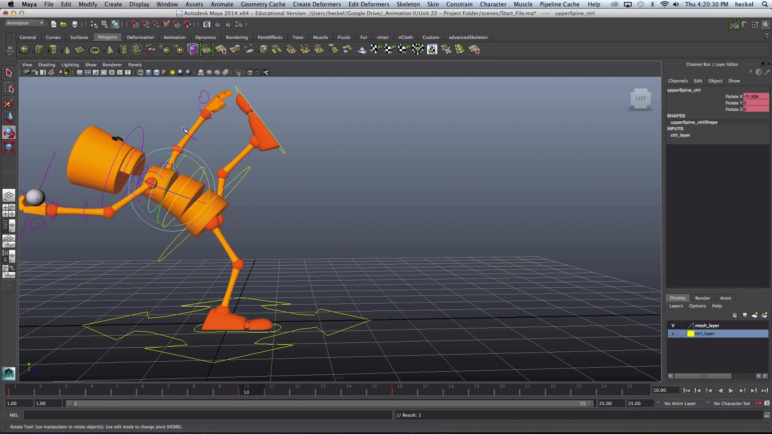 Image of Die besten 3D-Animationsprogramme (3D-Animation-Software): Maya