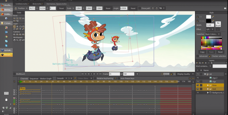 Image of Die besten 2D-Animationsprogramme (2D-Animation-Software): Moho