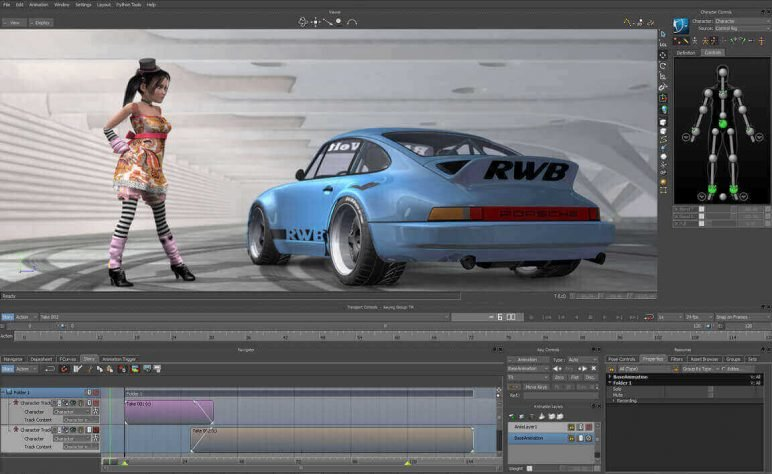 Image of Die besten 3D-Animationsprogramme (3D-Animation-Software): Motionbuilder