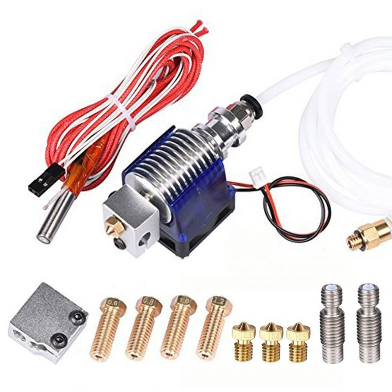 Image of Best-selling 3D Printer Extruder at Amazon: Wangdd22 Hotend