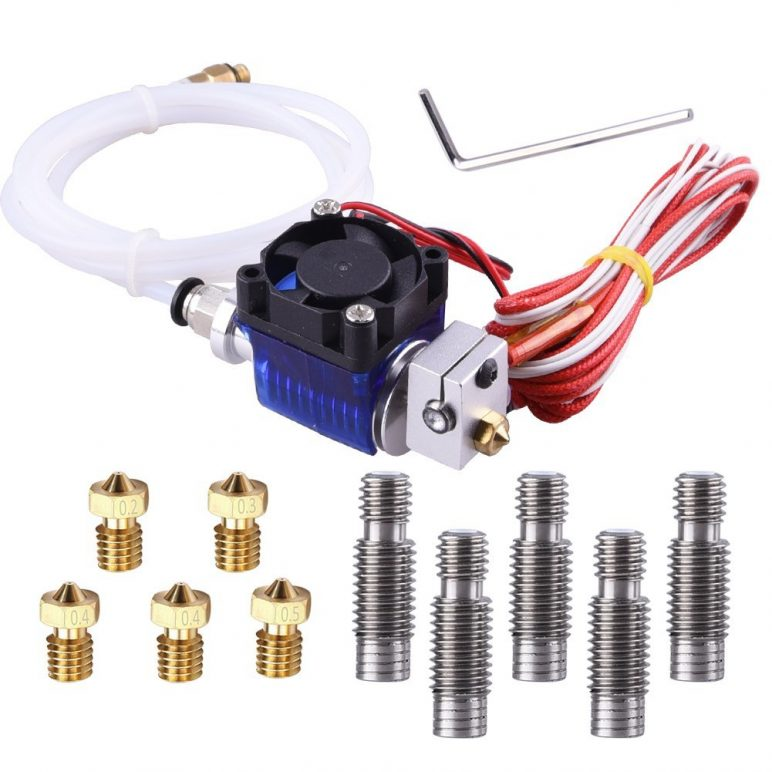 Image of Best-selling 3D Printer Extruder at Amazon: EAONE All-Metal Hotend