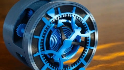 Featured image of 3D Printed Clock: 19 Great Projects to Tell the Time