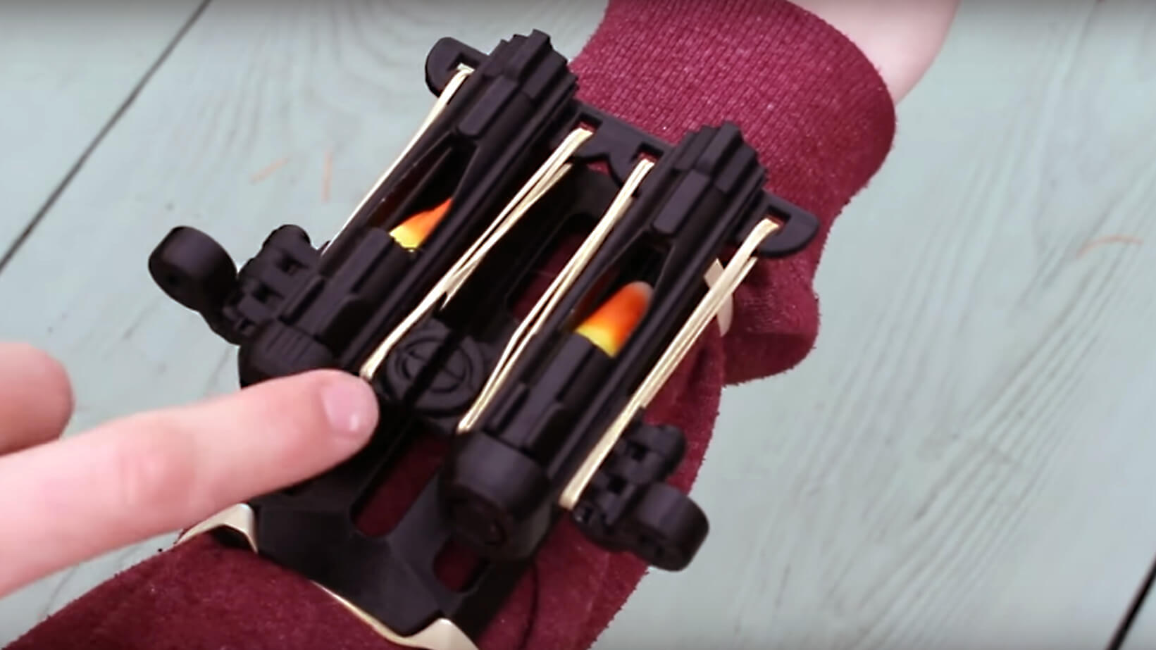 Keep Trick-or-Treaters at Bay with a 3D Printed Candy Corn Launcher | All3DP