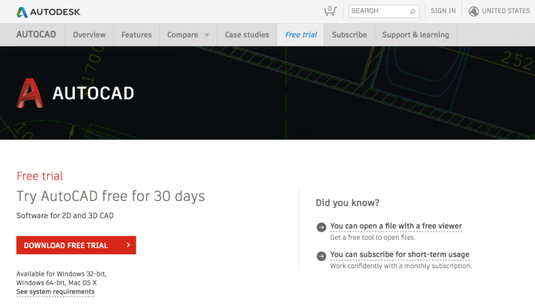 2019 AutoCAD Free Download – Is There a Free Full Version? | All3DP