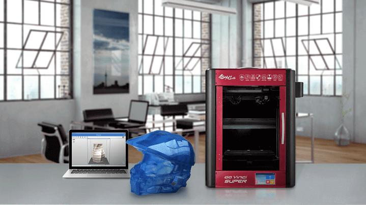 "XYZprinting Unveils ""Bigger & Better"" da Vinci Super 3D Printer | All3DP"