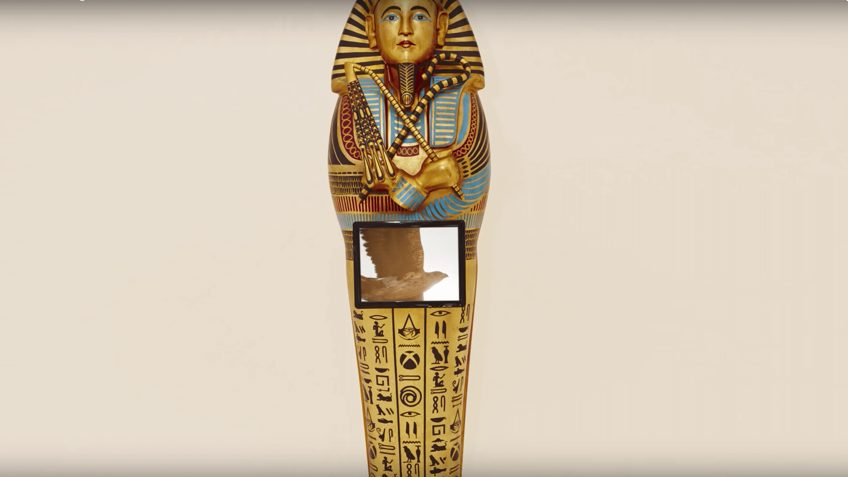 "Ubisoft Creates 3D Printed Replica of Tutankhamun's Sarcophagus for ""Assassin's Creed: Origins"" 