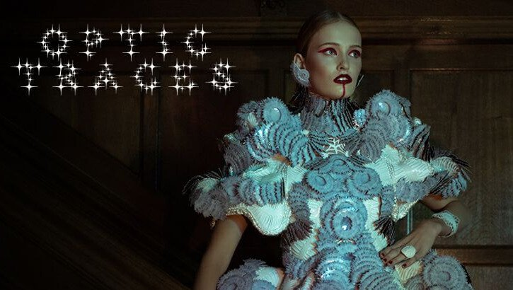 Optic Traces is a 3D Printed Couture Dress from Designer Maartje Dijkstra | All3DP