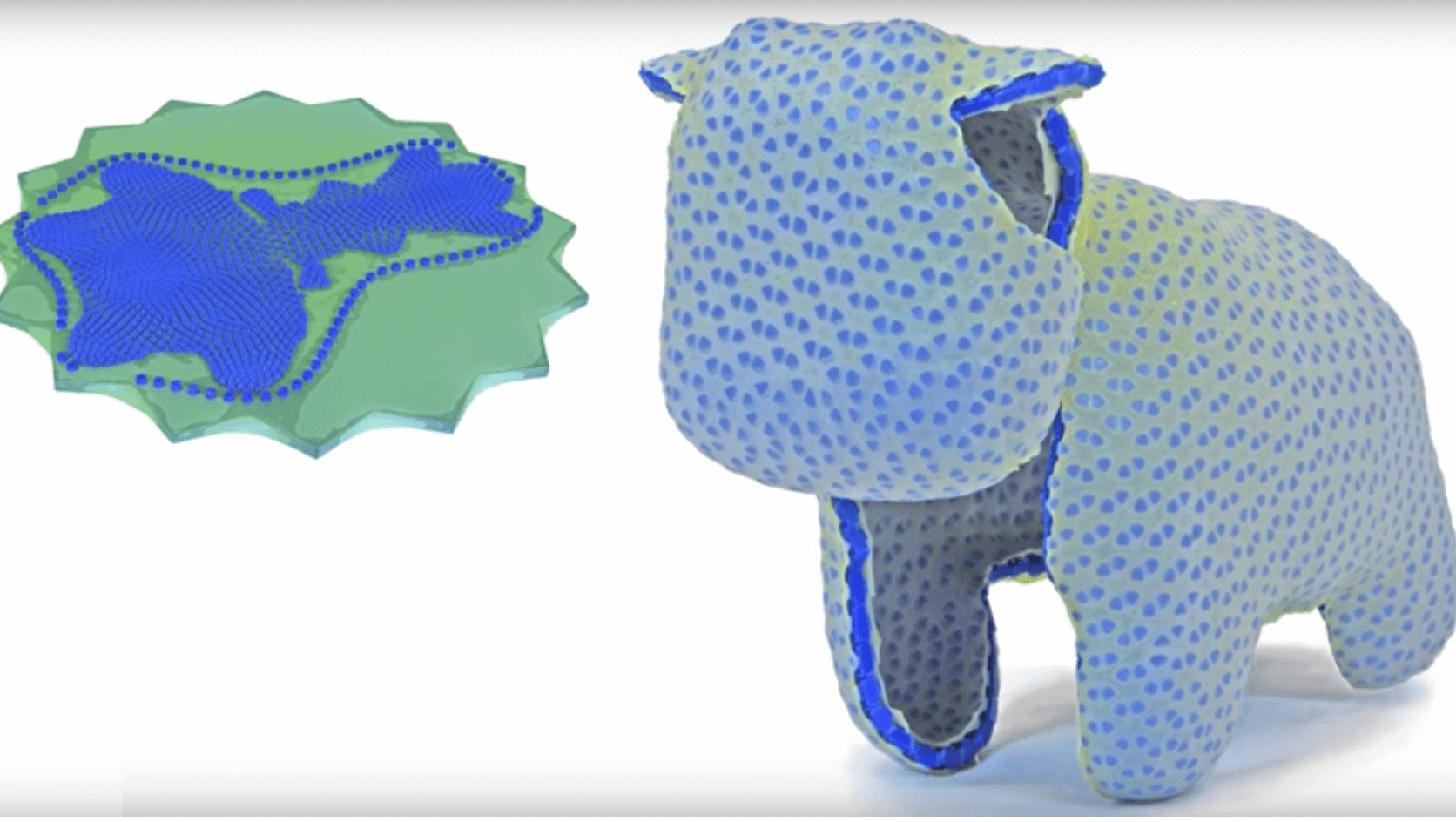 """CurveUps"" Are Flat Printed Objects That Transform Into 3D Shapes 