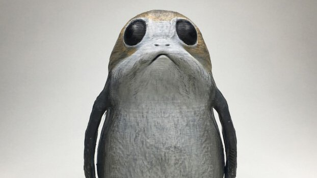 3D Print Your Own Star Wars Porg | All3DP