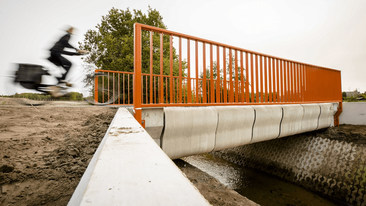 World's First 3D Printed Bicycle Bridge Opens in the Netherlands | All3DP