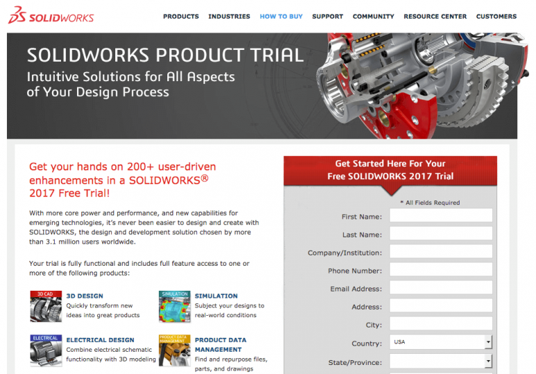 2018 solidworks free download is there a free full version? | all3dp.