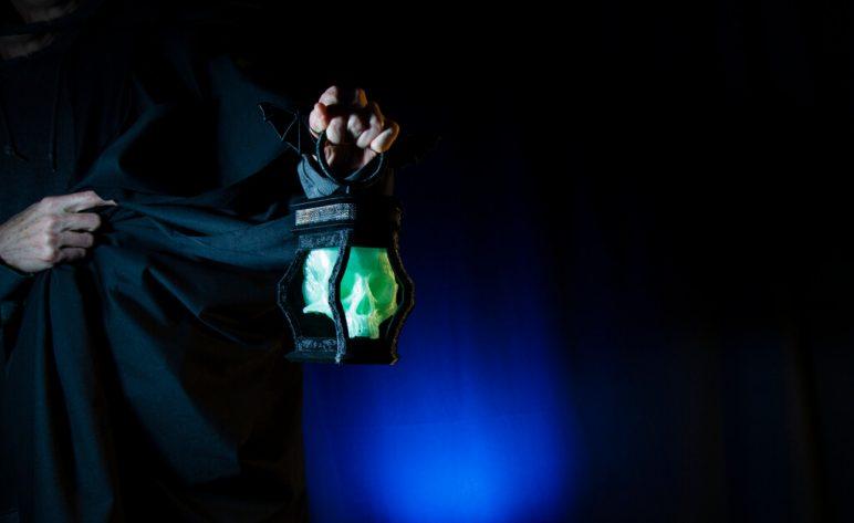 Изображение на Хелоуин за 3D печат: Черепният фенер